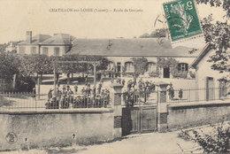 °°°°°  45 CHATILLON SUR LOIRE :   école De Garçons    °°°°°  ////   REF.  JUILLET 18  /  BO. 45 - Chatillon Sur Loire