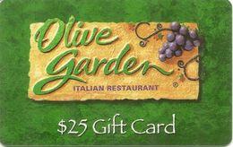 Olive Garden GIFT Card $25 - Tarjetas De Regalo