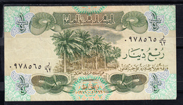 IRAQ 1980     UN CUARTO DE  DINAR .  PICK Nº 67  EBC   B156 - Iraq
