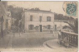 ALGERIE - BOUGIE - LA MAIRIE ET LA JUSTICE DE PAIX - Other Cities