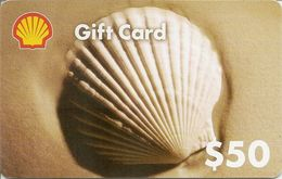 Shell GIFT Card $50 - Cartes Cadeaux