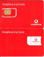 GREECE - A La Carte, Vodafone GSM(white Logo), Chip V2, Mint - Greece