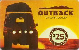 Outback Steakhouse Card $25 - Tarjetas De Regalo