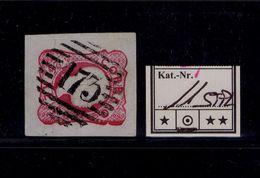 D.PEDRO V N/D 25r. Carmim  Pmk 173 SOUZEL (!) Portugal (issue 1856-1858)  #9766 - 1855-1858 : D.Pedro V