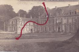 Villers-au-Flos Schloss   Carte Photo Allemande - Sonstige Gemeinden
