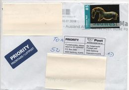 Germany 2018, Sudwest Mail, 85 Value Franking On Cover To U.K. - Interesting - Germany