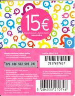 GREECE - Q Telecom Prepaid Card 15 Euro(silver Band), Exp.date 31/12/10, Used - Greece