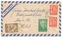 Argentina 1964 Airmail Cover Venado Tuerto To Akron, Ohio - Goodyear - Argentina