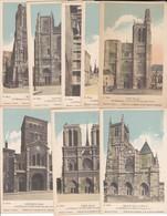 Collection De La Solution Pautauberge, 16 Cartes Cathédrales Et Châteaux, Description Au Dos - Collections