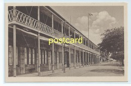 MOZAMBIQUE. BEIRA - ADMINISTRATION MAIN ENTRANCE. OLD POSTCARD C.1920  #802. - Mozambique