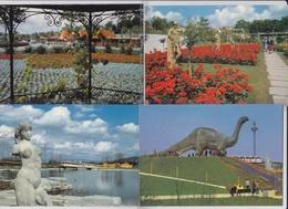 Grün 80, Garten- Und Landschaftbau / Merkur, Volksbank, Saurier (apatosaurus). 11 Karten - Expositions