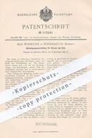 Original Patent - Max Wohryzek , Hohenmauth / Böhmen , 1898 , Befestigung Für Sensen Am Stiel | Sense , Geräte , Gärtner - Historische Dokumente