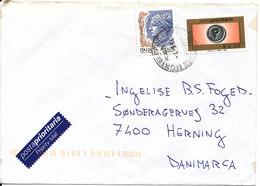 Italy Cover Sent To Denmark 2-9-2004 - 6. 1946-.. Republic