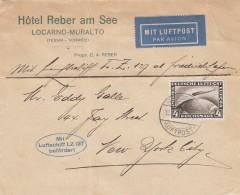 Deutsches Reich Zeppelin Brief 1928 Lz127 - Germania