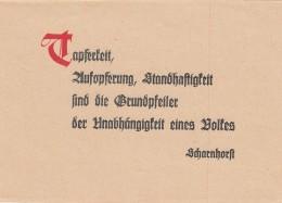Deutsches Reich Propaganda Feldpost 1938 - Ohne Zuordnung