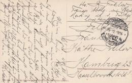 Deutsches Reich Feldpost Postkarte Egypt 1916 - Ohne Zuordnung
