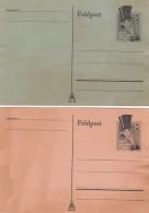 Deutsches Reich 2 Spottkarten Chamberlain - Ohne Zuordnung