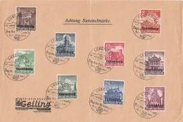 Deustches Reich Luxemburg Brief 1941 - Besetzungen 1938-45