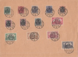 Deustches Reich Allenstein Brief 1921 - Deutschland