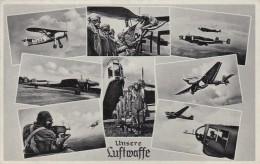 Deutsches Reich Feldpost Postkarte 1940 Unsere Luftwaffe - Ohne Zuordnung