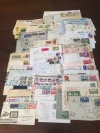 Interesting Sammlung /Collection With  500 Covers/FDC's/Postcards (Censor, R, Express) - Verzamelingen (zonder Album)
