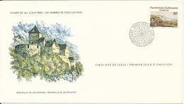 Liechtenstein FDC 10-3-1977 EUROPA CEPT Stamp With Cachet - FDC