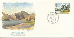 Great Britain FDC 24-6-1981 Derwentwater With Cachet - FDC