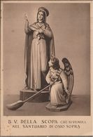Cartolina, Santuario Beata Vergine Della Scopa, Osio Sopra, Bergamo - Vergine Maria E Madonne