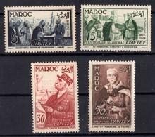 MAROC  N** 335 A 338   MNH - Maroc (1891-1956)