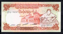 SIRIA  1977  1 LIBRA SIRIA   PICK Nº 99   NUEVO SIN CIRCULAR    B162 - Syria