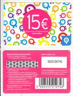 GREECE - Q Telecom Prepaid Card 15 Euro, Exp.date 31/12/10, Mint - Greece
