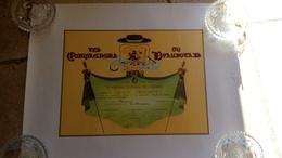 CONFRERIE - LES COMPAGNONS DU BEAUJOLAIS à GERARD TRUCHETET - 1988 CLERMONT Cuisinier Corbigny Nièvre - Diplomi E Pagelle
