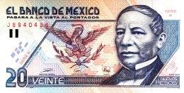 Mexico 20 Nuevos Pesos, P-100 (1992) UNC - Mexico