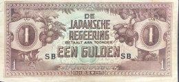 Netherland Indies 1 Gulden, P-123b Fine - Dutch East Indies