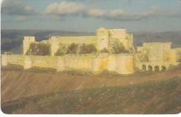 SYRIA(chip) - Old Castle, Easycomm Telecard 500 SP, Used - Syria