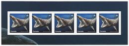 = BASKING SHARK = SHARKS = Haie = HAIFISCH = REQUIN = Tiburón = SQUALO = Souvenir Sheet From Uncut Sheet Canada 2018 - Marine Life