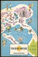 """{23556} Tour Du Monde N° 49  03/1964     Philippines    TBE. """" En Baisse """" - Géographie"""