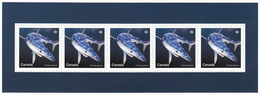 = BLUE SHARK = SHARKS = Haie = HAIFISCH = REQUIN = Tiburón = SQUALO = Souvenir Sheet From Uncut Sheet Canada 2018 - Maritiem Leven