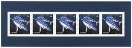 = BLUE SHARK = SHARKS = Haie = HAIFISCH = REQUIN = Tiburón = SQUALO = Souvenir Sheet From Uncut Sheet Canada 2018 - Marine Life