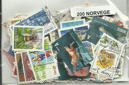 Lot 200 Timbres De Norvege - Norvège