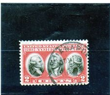 B - 1931 Stati Uniti - Count Of Rochambeau, Washington And Count Of Grasse - United States