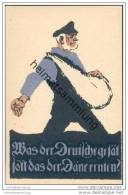 Was Der Deutsche Gesät Soll Das Der Däne Ernten - Abstimmung Am 14. März 1920 - Germany