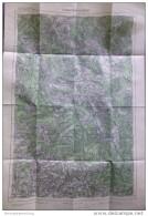 2 Kuschwarda (Kunzvart) 1947 - Provisorische Ausgabe Der Österreichischen Karte 1:50.000 - Herausgegeben Vom Bundesamt F - Maps Of The World