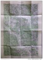 3 Plöckenstein 1947 - Provisorische Ausgabe Der Österreichischen Karte 1:50.000 - Herausgegeben Vom Bundesamt Für Eich- - Maps Of The World