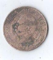 France 1854 Napoléon III Dix Centimes A 10 Centimes A - France