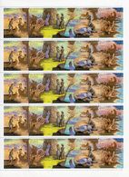 Natur Bogen 1989 Sowjetunion 6009/3,ZD+5-KB ** 18€ Roman Coopers Wilder Westen S/s Sheetlet Bf USSR CCCP SU - Environment & Climate Protection