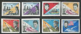 YEMEN - MNH - Famous People - Kennedy - Space - Imperf. - Kennedy (John F.)