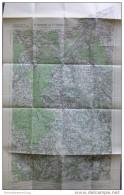 45 Ranshofen Und 27 Braunau Am Inn 1948 - Provisorische Ausgabe Der Österreichischen Karte 1:50.000 - Herausgegeben Vom - Maps Of The World