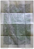 46 Mattighofen 1946 - Provisorische Ausgabe Der Österreichischen Karte 1:50.000 - Herausgegeben Vom Bundesamt Für Eich- - Maps Of The World