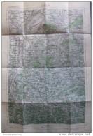 56 St. Pölten 1947 - Provisorische Ausgabe Der Österreichischen Karte 1:50.000 - Herausgegeben Vom Bundesamt Für Eich- U - Landkarten